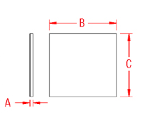 Backing Plate Drawing