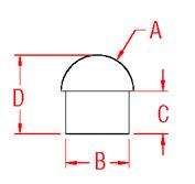 Bullet Cap Drawing