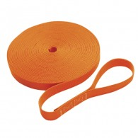 Single Jackline with Loop - Orange C0240-L-O