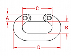 Cast Connecting Link Drawing