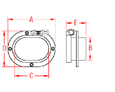 Chain   Deck Pipe Drawing