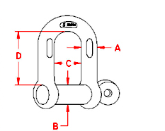 Chain Shackle Drawing