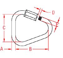 Delta Quick Link Drawing