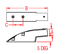 End Mount In Drawing