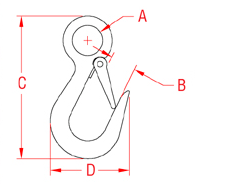 Eye Hook Drawing