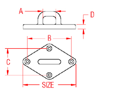 Heavy Duty Diamond Pad Eye Drawing