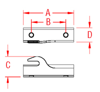Mooring Hook Kit Drawing