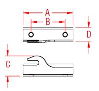 Mooring Hook Kit Drawing