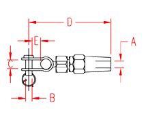 Quick Attach™ Toggle Drawing