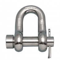 Round Pin Chain Shackle - Grade 316 NM Stainless Steel S0115-RP