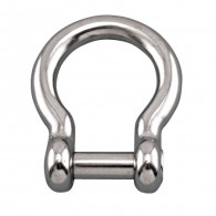 Bow Shackle with No Snag Pin - Grade 316 Stainless Steel S0116-NS