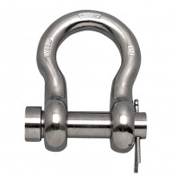 Round Pin Anchor Shackle - Grade 316NM Stainless Steel S0116-RP