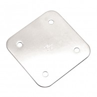 Heavy Duty Square Back Plate S3704-0001