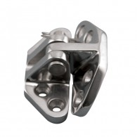 Heavy Duty Hatch Hinge - Angle Base - Grade 316 Stainless Steel S3824-1075