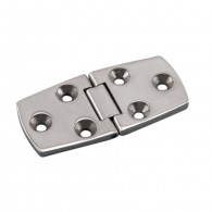 Heavy Duty Flush Door Hinge - Grade 316 Stainless Steel S3830-0