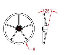 Steering Wheel Drawing