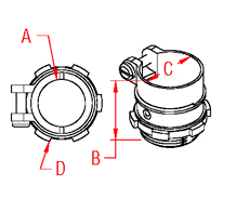 Straight Connector Drawing