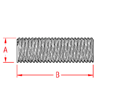 Threaded Rod Drawing