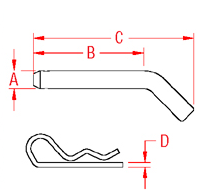 Trailer Pin Drawing