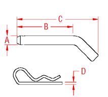 Trailer Pin Drawing