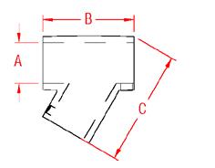 Universal T Rail Drawing