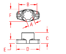 Winch Handle Holder Drawing
