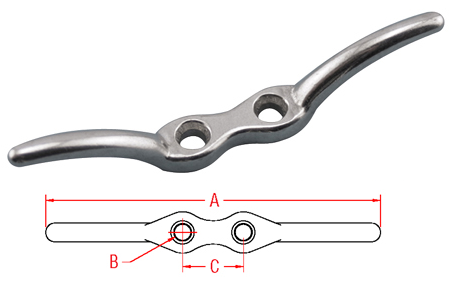 Flagpole Cleat - S3103