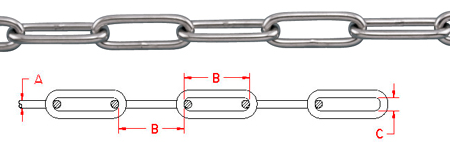 Long Link Chain - S0606