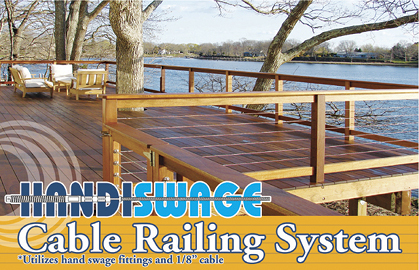 HandiSwage Cable Railing System