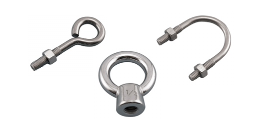 Stainless Steel Eye Bolts & U Bolts