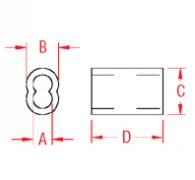 Aluminum Swage Sleeve Drawing