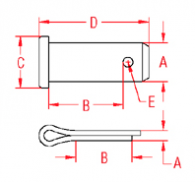 Clevis Pin Drawing