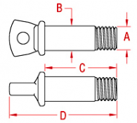 Shackle Pin Drawing